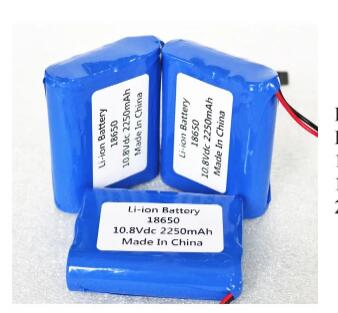 OEM 18650 Lithium ion battery Pack