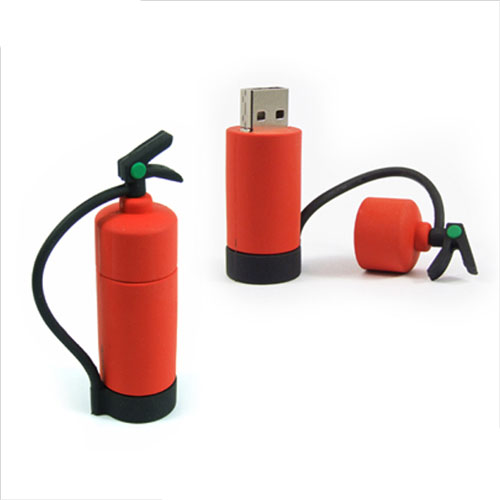 Custom Print LOGO Emulate PVC Extinguish USB Stick 8GB 2.0 U491
