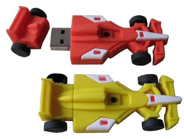 lrace car usb flash drive, high-end new module PVC car usb U414