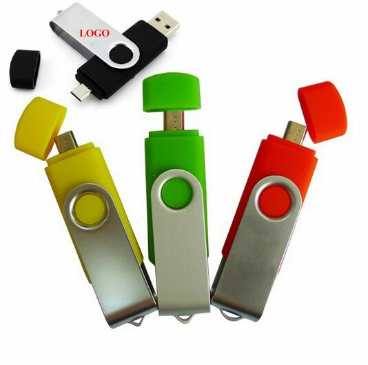 Android OTG usb flash drive with logo printing U900