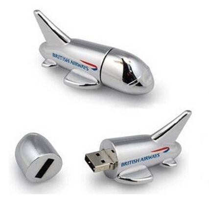 metal plan usb flash drive 2GB 4GB 8GB 16GB U1988