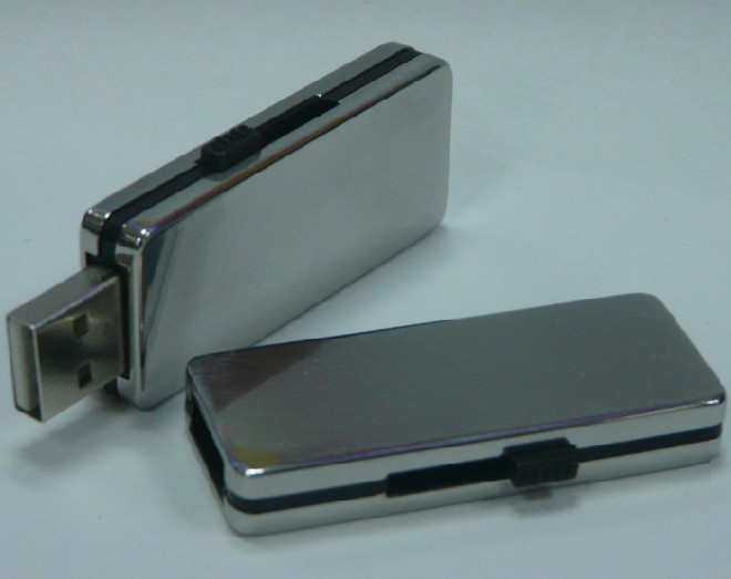 Metallic USB drive, USB2.0 Flash disk, Stainless material USB key U284