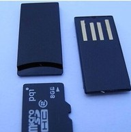Mini usb flash drive with Micro SD Card Rearder U650