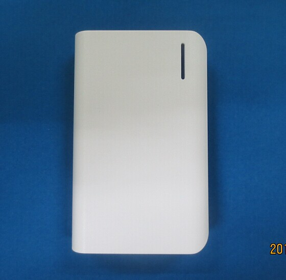 Power bank with 2 USB output ports and LED flash light  PB310(847)