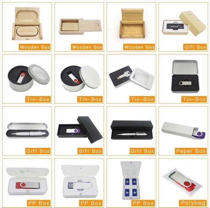 OEM ODM Different package with logo or design for USB Flash Drive