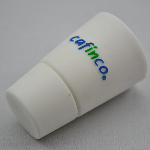 PVC coffee cup custom USB U699