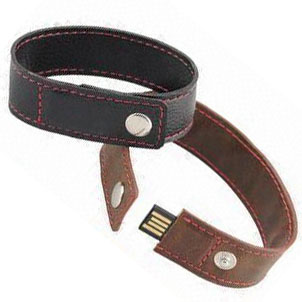 Leather USB drive USB2.0 Bracelet USB U316